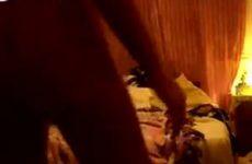 Blond geil meisje maakt amateur film van haar zelf