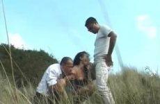 Buitensex in de duinen
