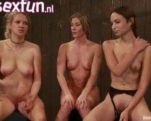 Tryout voor drie slaven